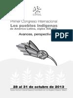 Congreso pueblos indígenas de AL siglos XIX-XXI