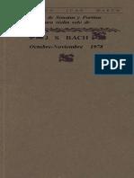 Bach Sonatas y Partitas Teoria