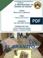 El Granito-trabajo Final de Yacimientos No Metalicos