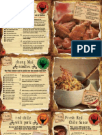 Brochure - Chili Pepper