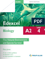 A2 Student Unit Guide Edexcel Biology Unit 4
