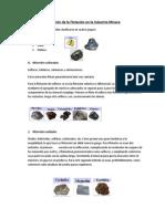 Flotacioin de Oxidos y Sulfuros