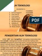 4. ALIH TEKNOLOGI