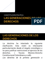 Las Generaciones de Los Derechos