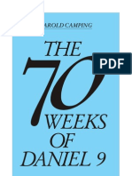 70 Weeks of Daniel Chapter 9