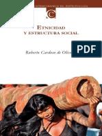 Cardoso de Olivera Etnicidad y Estructura Social