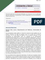 Vivat Academia - Septiembre 2002. Nº 38 - Ambiente y Salud - El Morbo del Hambre (El Punto de Quiebre) (Carlos Gamero Esparza)