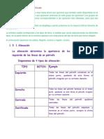 Alineacion y Carc. Del Texto