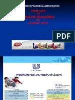 marketing strategy of lifebuoy