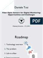 Fiber Optic Sensors for Digital Monitoring Opportunities and Challenges (Daniele Tosi)
