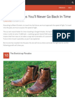 Top 10 Reasons You'Ll Never Go Back in Time - Listverse