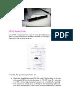 MUET Report Writing (2011)