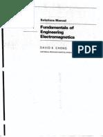 Solucionario - Fundamentos de Electromagnetismo Para Ingenieria - David K. Cheng