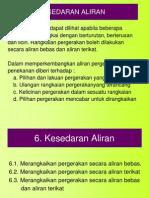 Tema 6. Kesedaran Aliran