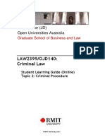 Criminal Procedures - Notes