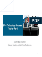 IPv6 Technology Overview Tutorial