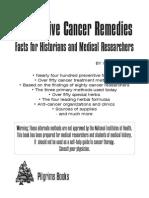 Ferrell.alternative Cancer Remedies