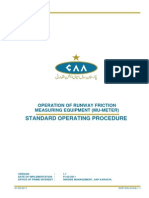 Operation of Runway Friction Equipment