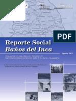 reporte social baños del inca