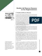 GERENCIA S. SALUD III. Capitulo 1. Gestion Del Recurso Humano