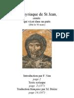 Vie de St Jean le Siloïte