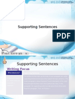 5. Supporting Sentences