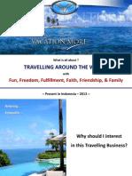 Travelling Business Presentation