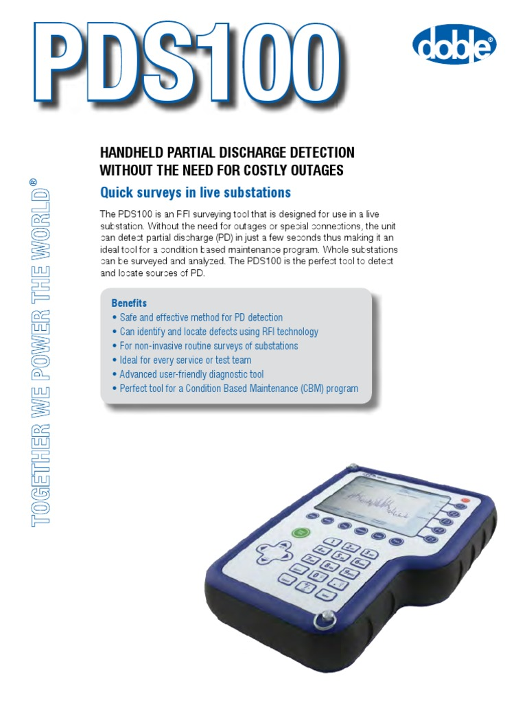 Pds100 Brochure Us Lr | Ultra High Frequency | Manufactured