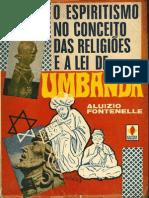 Aluizio Fontenelle - O Espiritismo no Conceito das Religiões e a Lei de Umbanda