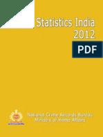 PRISON STATISTICS INDIA - 2012