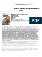 The Complete Book on Biotechnology Based Bulk Drbulk drugugs
