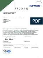 EN ISO 14001