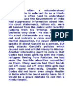 Article on Why NathuRam Godse Killed Gandhiji....!!!!