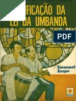 Emanuel Zespo - Codificação da Lei da Umbanda