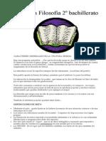 Resumen Filosofía 2º bachillerato