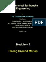 Deepankar- Strong Motion Charcteristics