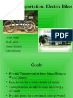 Smart Transport - Project Plan