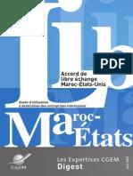 Guide CGEM  Accord libre échange ALE_Maroc_USA