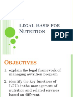 Legal Basis for Nutrition Revised2