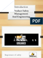 Product Safety Management