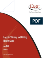 Logic in Thinking and Writing How to Guide