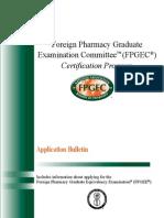 FPGEC Application Bulletin 073013
