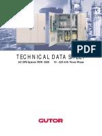 EN_PDW3000 Gutor Ups