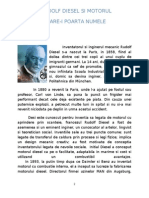 Rudolf Diesel Si Motorul Care-poarta Numele