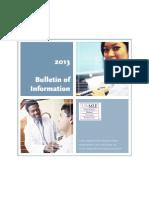 USMLE 2013 Bulletin