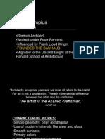 20th c. Architects