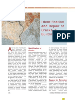 Identification and Repair of Cracks in Buildings
