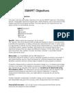 P1 SMART Objectives