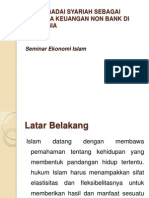 Peran Gadai Syariah Sebagai Lembaga Keuangan Non Bank