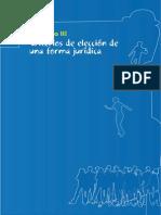 Criterios de Elección de una Forma Jurídica[1]